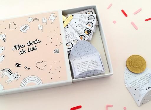 Mes Dents De Lait Kit Special Petite Souris Les Fleurs